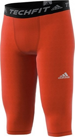 Adidas Techfit Base Mens Three L Orange -