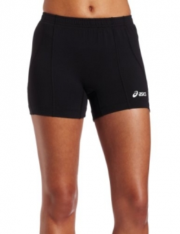ASICS Women's Baseline Vb Short, Black, Large -