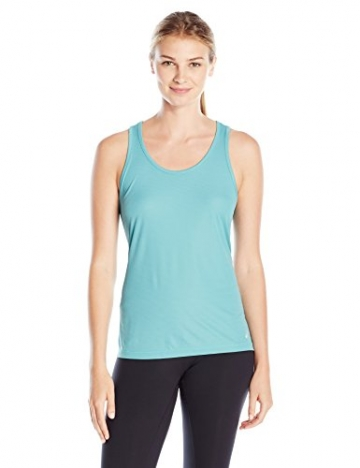ASICS Women's Tank Top, Kingfisher, Small -