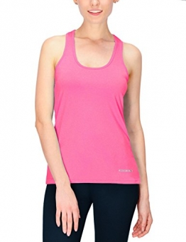 Baleaf Women's Active Racerback Tank Top Running Shirt Heather Pink Size L -