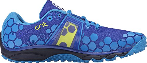 Brooks PureGrit 4 Running Shoe - Men's Surf The Web/Brilliant Blue/Lime Punch, 10.5 -