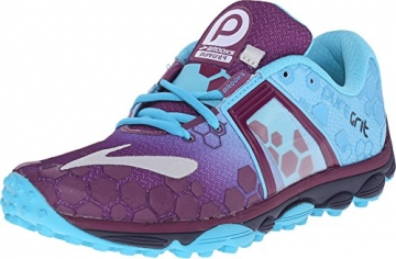 Brooks PureGrit 4 Trail Running Shoe - Women's Phlox/Aquarius/Peacoat, 6.0 -