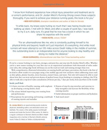 Dr. Jordan Metzl's Running Strong: The Sports Doctor's Complete Guide to Staying Healthy and Injury-Free for Life -