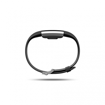 Fitbit Charge 2 Heart Rate + Fitness Wristband, Black, Large -