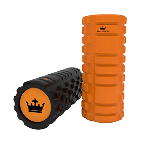 Foam Roller for Muscle Exercise and Myofascial Massage :: Physical Therapy, Grid Textured Fitness Rollers Best For Stretching, Tension Release, Pilates & Yoga -