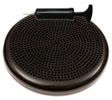 Inflated Stability Wobble Cushion / Exercise Fitness Core Balance Disc (Black),13 inches / 33 cm diameter -