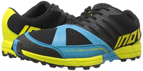 Inov-8 Men's Terraclaw 250 Trail-Running Shoe, Black/Blue/Lime, 10.5 M US -
