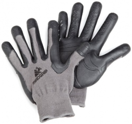 Mad Grip F100 Pro Palm Gloves,Grey/Black,Small/Medium -