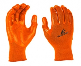 Mad Grip F50 Pro Palm Gloves, Small/Medium, High Vis Orange -