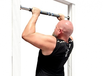 Maximiza Pull-up Bar - Doorway Pullup / Chinup Bar with 3 Sets of Screw-in Door-Mounts -