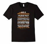 Men's As A Tough Mudder I Overcome All Fears T-Shirt XL Black -