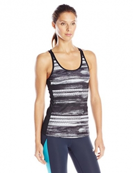 New Balance Women's Performance Fashion Tank, Black Print, X-Large -