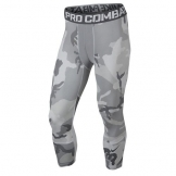Nike Pro Combat Hypercool Woodland 3/4 Compression Tights 657448 (X-Large) -