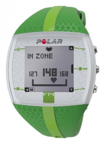 Polar USA Unisex FT4  Green/Green Watch -