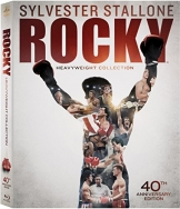 Rocky Heavyweight Collection(Rocky / Rocky II / Rocky III / Rocky IV / Rocky V / Rocky Balboa)( 40th Anniversary Edition) [Blu-ray] -