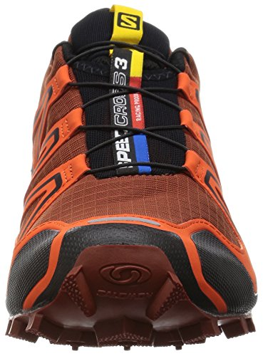 Salomon Men's Speedcross 3 Trail Running Shoe, Deep Red/Tomato Red/Black, 13 D US -