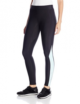 SKINS Women's A200 Thermal Compression Long Tights, Black/Glacier, X-Small -