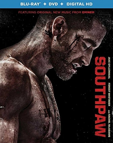 Southpaw (Blu-ray + DVD + Ultraviolet) -