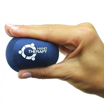 Stress Ball Hand Therapy Gel Squeeze Ball for Hand Stress and Therapeutic Relief, Grip Strength, Hand Mobility and Restoration -