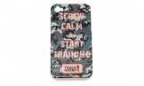 "Tough Mudder Hoot ""Screw Calm And Start Training"" Camo iPhone 4/4s Case -"