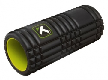 TriggerPoint GRID Foam Roller with Free Online Instructional Videos, Original (13-inch), Black -