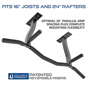 Ultimate Body Press Ceiling Mounted Pull Up Bar -