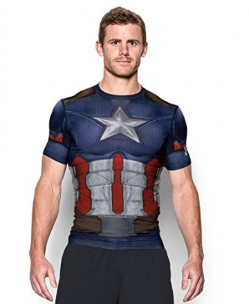under armour captain america compression shirt mudder