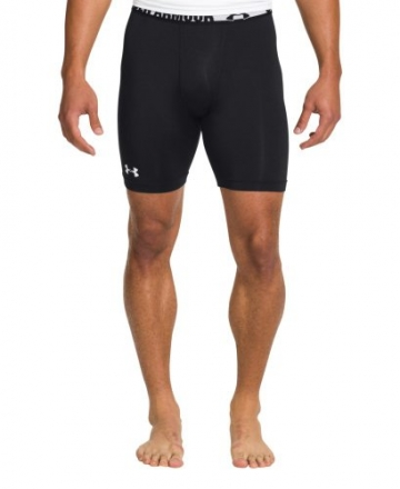 Under Armour Men's HeatGear Sonic Compression Shorts Small Black -