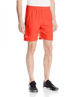 "Under Armour Men's Launch Run 7"" Shorts, Rocket Red (984), Small -"
