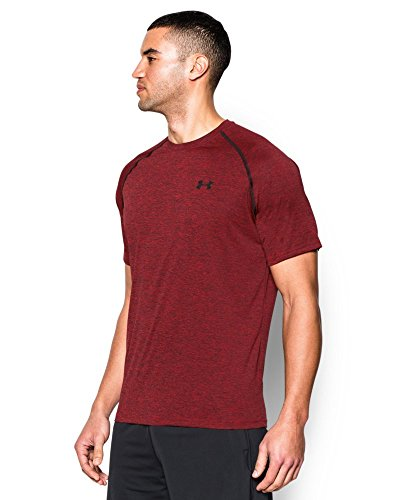 Under Armour Men's Tech Short Sleeve T-Shirt, Red (608), Large -