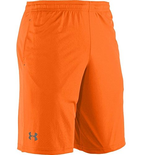 Under Armour Men's UA Micro Solid Shorts Small Blaze Orange -