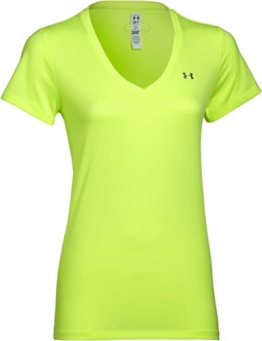 Under Armour Women's Short Sleeve Solid T-Shirt - SS15 - Medium - Yellow -