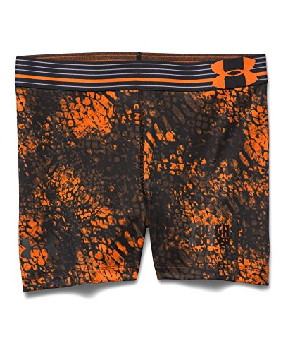 Under Armour Women's Tough Mudder HeatGear Armour Printed Short Medium Black -