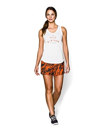 Under Armour Women's Tough Mudder Printed UA Perfect Pace Short Large Black -