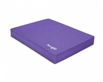 Yes4All Caah Balance Pad Large, Purple -